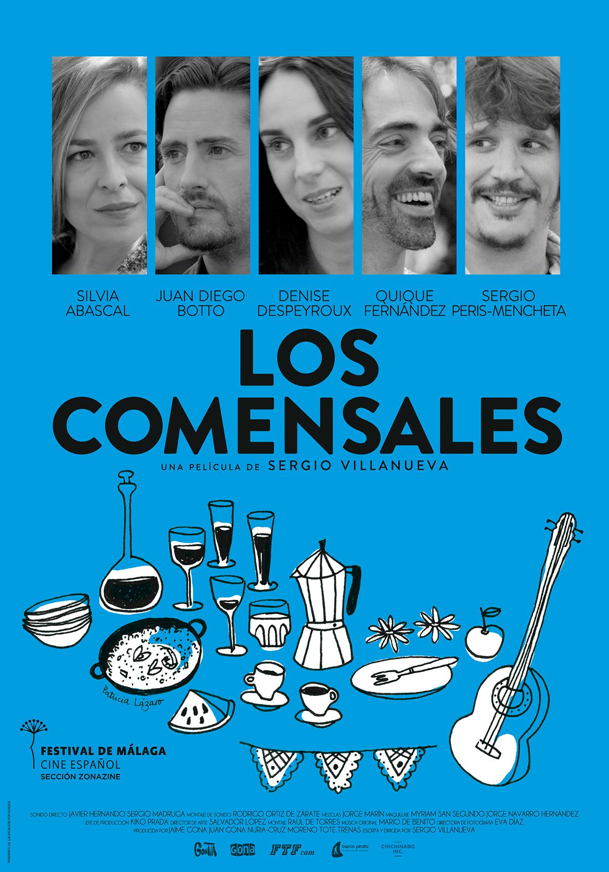 Cartel - LOS COMENSALES